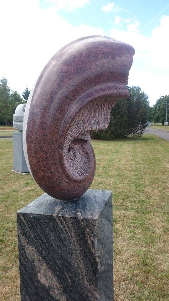 The beginning of time – granite, 1,50m / 70cm/ 75cm, Panevezys, Lithuania