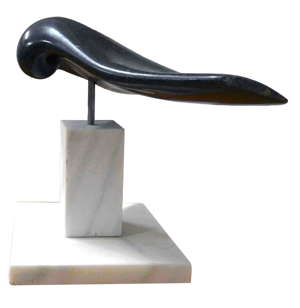 Black Beauty - granite, 70cm/40cm/45cm 2013