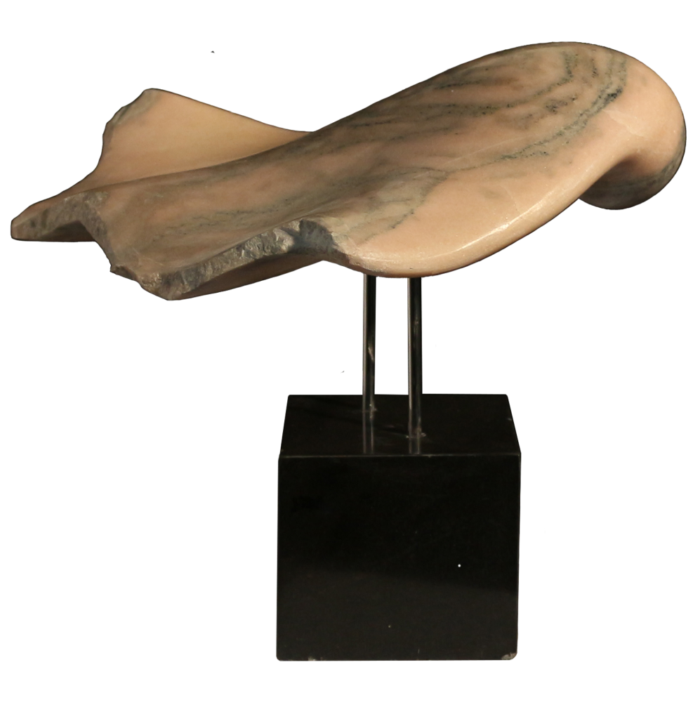 If you want to fly... – marble, 50cm/ 65cm/ 50cm,  2014