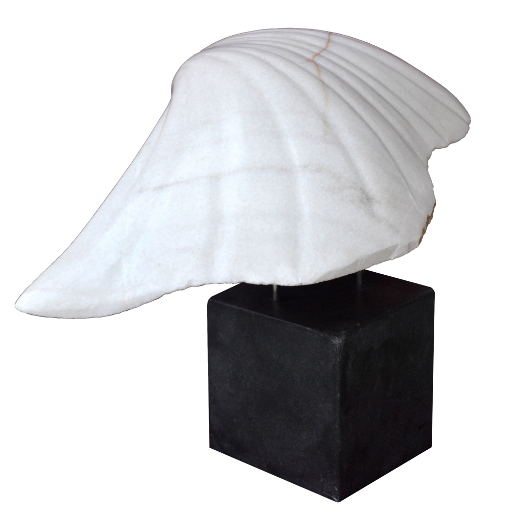 The Annunciation I – marble,70cm/40cm/45 cm, 2012